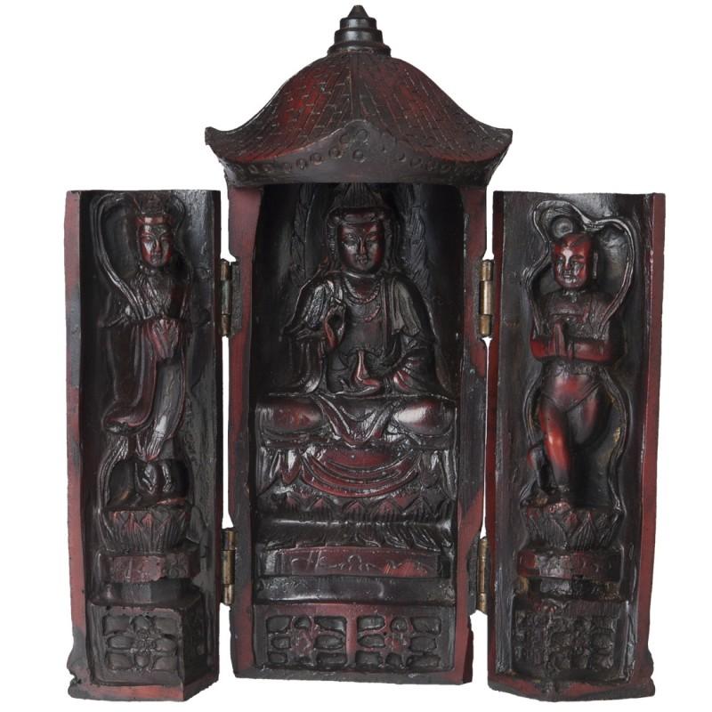 Kwan Yin Trinity Meditation Altar