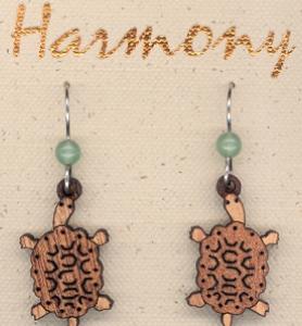Natural Harmony Hardwood Earrings