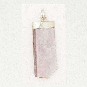 Sterling Silver Lepidolite Pendant