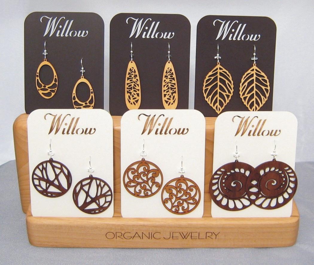 Willow Wood Earrings
